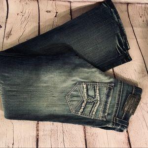 Good Looking DECREE Boot Cut Jeans 30x32.  NWT
